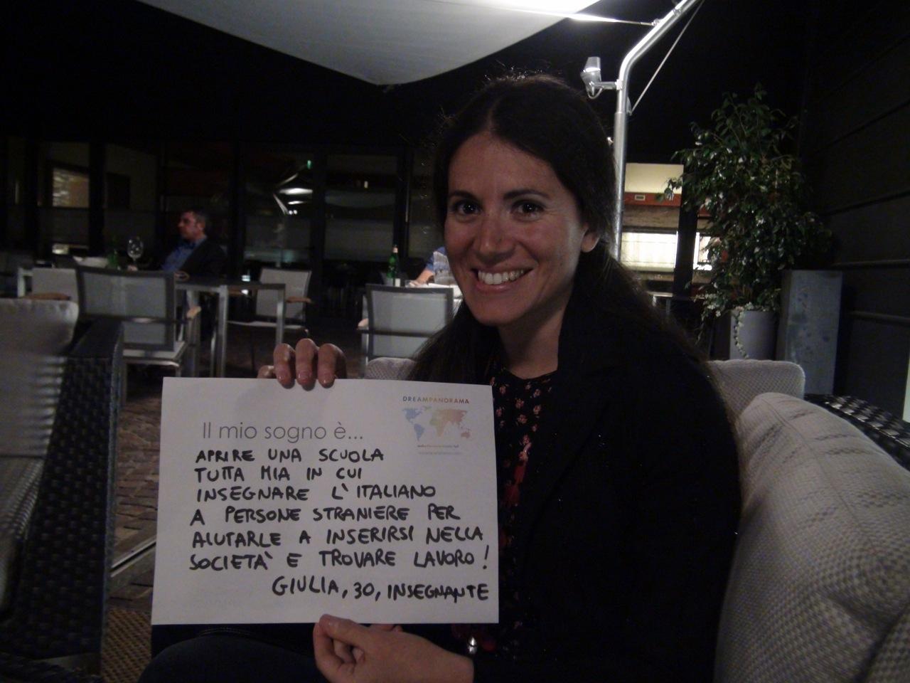Dreamer: Giulia, 30, Italian,